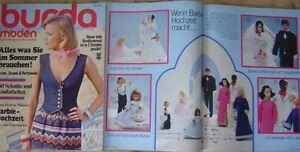 Burda Moden 76/05 BARBIE-Hochzeit Braut Häkel MIEDER Corselet Party-Mode 70er J. - Ländle, Deutschland - Burda Moden 76/05 BARBIE-Hochzeit Braut Häkel MIEDER Corselet Party-Mode 70er J. - Ländle, Deutschland