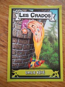 Les CRADOS 3 N°55 Image 2004 album card Sticker FRANCE Garbage Pail Kid