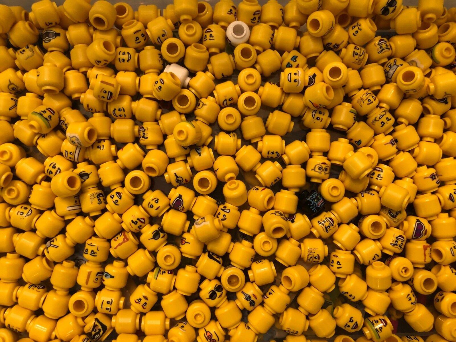 LEGO BULK LOT 1000 NUOVE MINIFORRE CAPI cifra CITTA'DI CITTA' TOURLA PIÙ