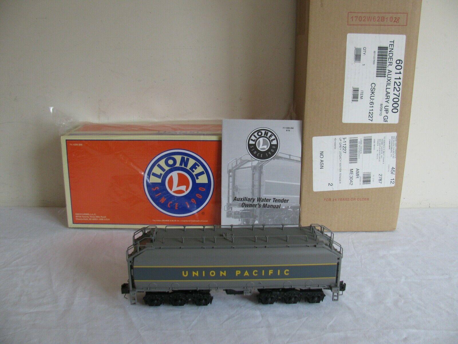 Lionel i treni Union Pacific Ausiliari Acqua TENDER con Legacy  611227 EX