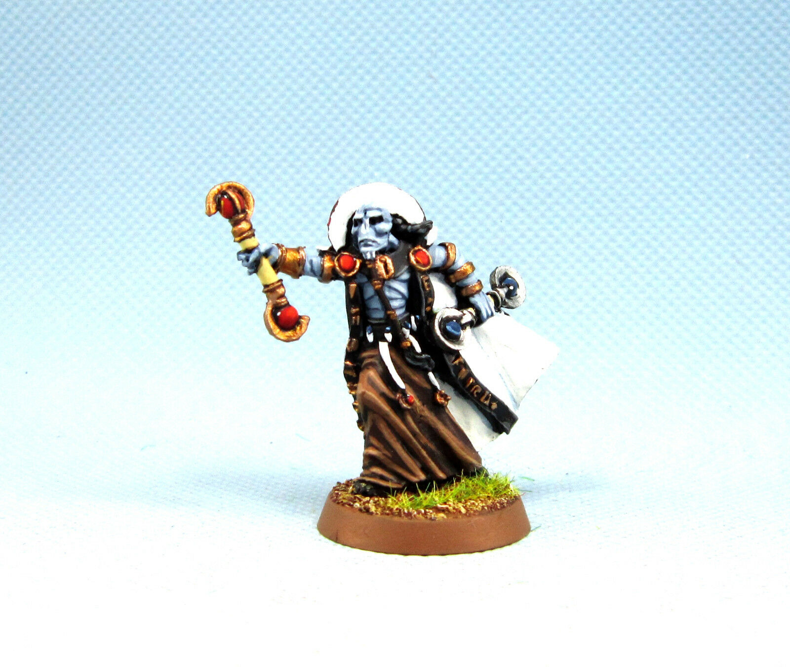 Warhammer  40K wgs painted Tau Empire Ethereal with Hand Weapons KTE007  promotions promotionnelles