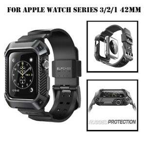 brand new cf164 1c2a6 For Apple Watch Series 3 2 1 --42mm, SUPCASE Full Body Watch Band ...