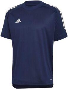 Mens Adidas Condivo 20 Soccer Jersey Navy Team Apparel Training ...