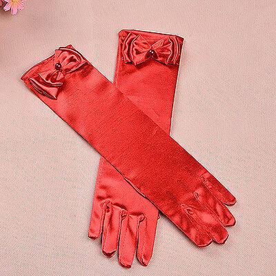 New Girls Holy Communion Flower Girl Gloves in 11 Colours 4-8 Years