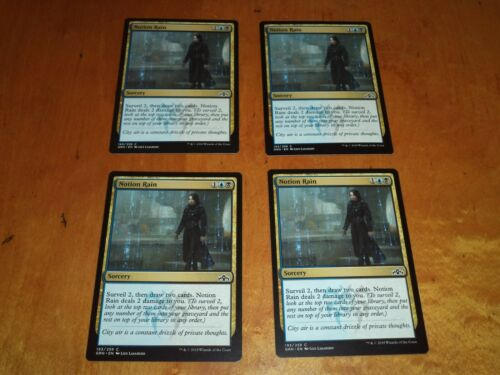 4x Playset MTG Magic the Gathering Complete Set of 4 x4 Cards Guilds of Ravnica