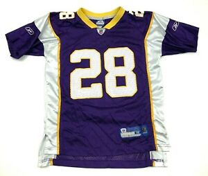 Details about VINTAGE Reebok Adrian Peterson Minnesota Vikings Football Jersey Youth M 10 - 12