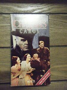 VHS Charles Dickens A Christmas Carol MGM Movie VCR 27616145130 | eBay