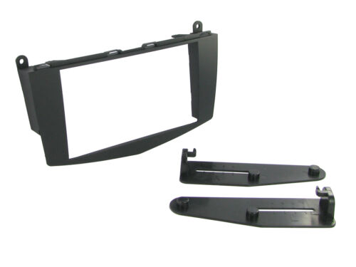 CT23MB14 Mercedes C Class w204 07-11 On Double Din Stereo Facia Kit
