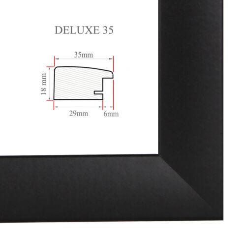 DELUXE35 Bilderrahmen 35x41 cm oder 41x35 cm Foto//Galerie//Posterrahmen