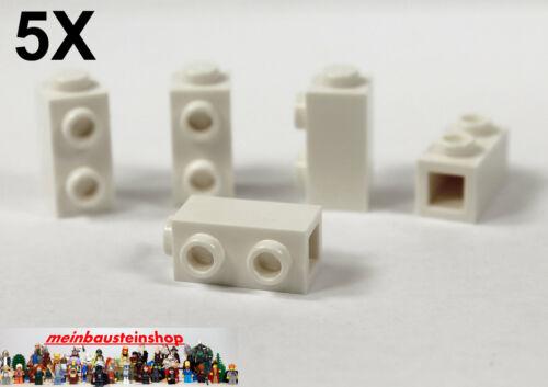 2 seitl 5X Lego® 32952 Konvertersteine 1X1X1 2//3 m Noppen Weiß White NEU