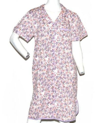 Gold Coast Women/'s Classic Nightgown in Lavender Floral Medium