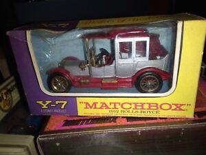 MATCHBOX-YESTERYEAR-1912-ROLLS-ROYCE-NEUF-BOITE