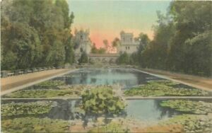 Balboa-Park-Buildings-Lily-Pond-1920s-San-Diego-California-hand-colored-9185
