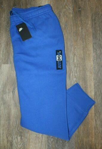 NWT NIKE Men/'s JDI Fleece Jogger Sweatpants Carolina Blue XL M 2XL S