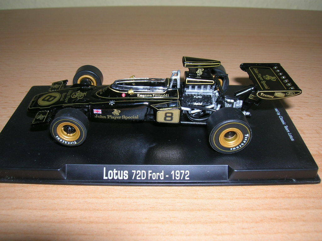 Rba Lotus 72D Ford Weitmeister Emerson Fittipaldi 1972 Formule 1, 1 43