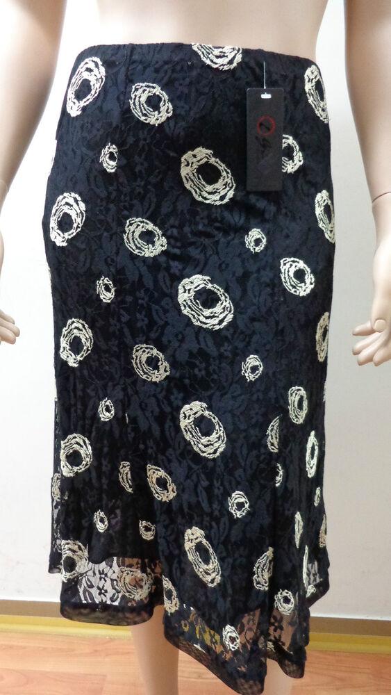 19 Donna Gonna Oversize Skirt Yubka Rock Jupe Falda Longuette 1900860018