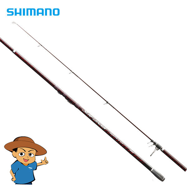 Shiuomoo SURF LEADER 405EXT 13'2 nuovo pesca spinning asta pole from Japan
