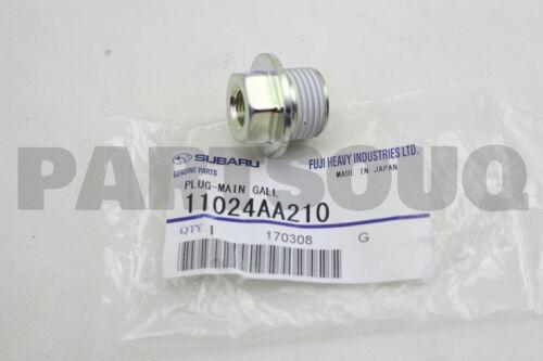 11024AA210 Genuine Subaru PLUG-MAIN GALL 11024-AA210