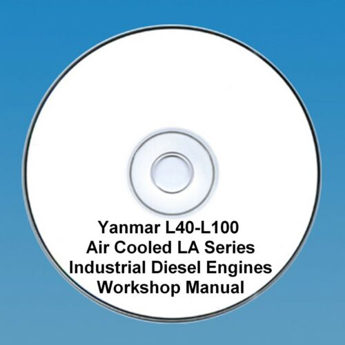 Yanmar L40-L100 Air Cooled LA Series Diesel Engine - Workshop Manual