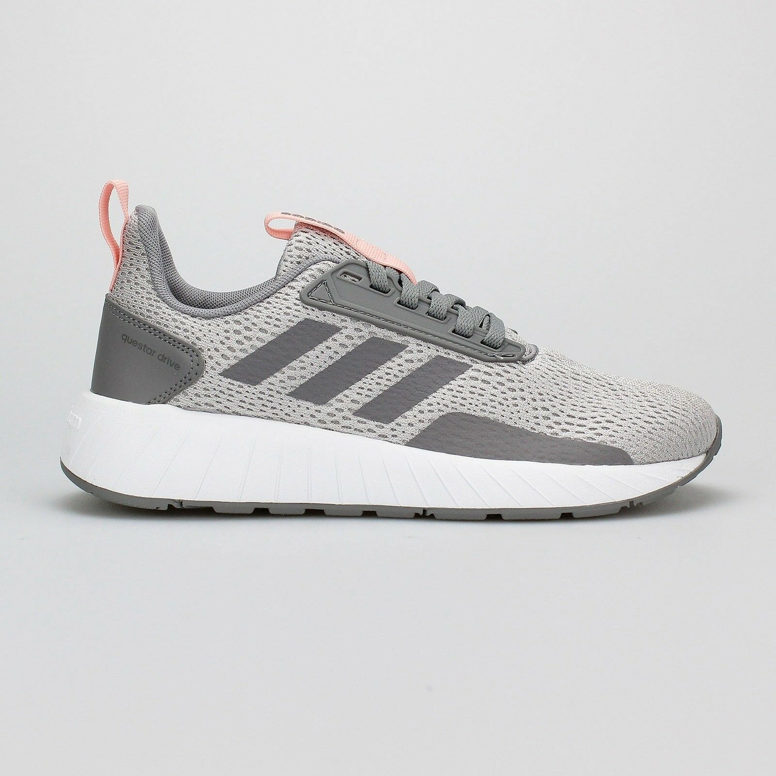 newest 21134 54219 ... Women Adidas Questar Questar Questar Drive Running Shoes Grey Pink  Sneakers DB1693 NEW e5a1fc ...