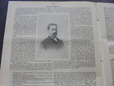 1896 baugewerkszeitung 64/Villa dedicas y pleuger en Barmen/fangosos Hamburgo