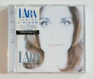 CD-ALBUM-NEUF-LARA-FABIAN-PURE-RARE-STICKER-1998-ANNONCANT-LA-TOURNEE