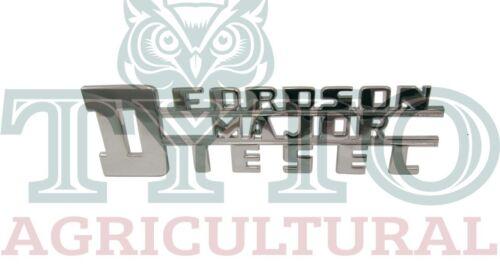 Fordson Major Tractor Diesel Lado Insignia De Excelente Calidad