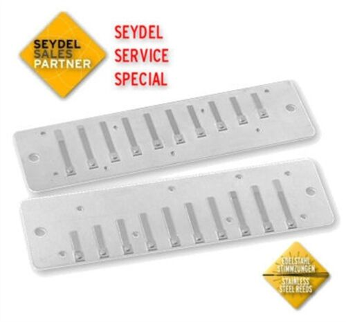 Seydel Session /& Session Steel Harmonica REPLACEMENT STEEL REEDPLATES Pick a Key
