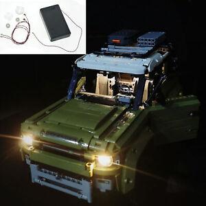 LED Light Kit For LEGO 42110 Technic Land Rover defender car Model Building set