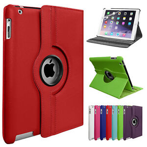 360-Rotate-Smart-Stand-Leather-Case-Cover-For-Apple-iPad-4-3-2-Mini-Air-Pro-Lot