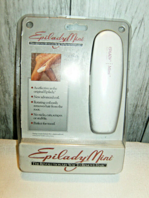 Epilady Mini Classic Coil Epilator Compact Hair Removal Smooth Skin Travel New