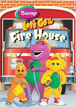 Barney Let s Go To The Fire House - DVD By Barney - GOOD - $4.88