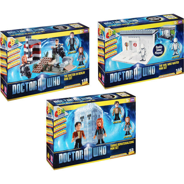 Doctor Who - Character Building Mini Micro Playsets Wave 2 (Set of 3)