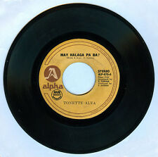 Philippines TONETTE ALVA May Halaga Pa Ba? OPM 45 rpm Record