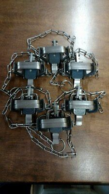 BRIDGER #1 COIL SPRING TRAPS NEW SALE trapping muskrat raccoon new sale 12