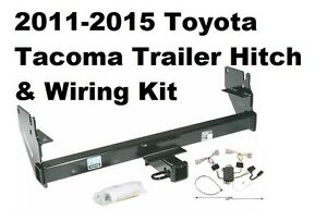 hitch wiring for toyota 2011-2015 toyota tacoma trailer hitch w/ wiring kit no ... toyota tacoma trailer hitch wiring harness