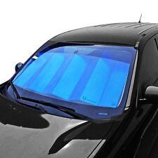 """Zone Tech Blue Truck Van SUV Car Sun Visors Windshield Sun Shade  28x54"""""""