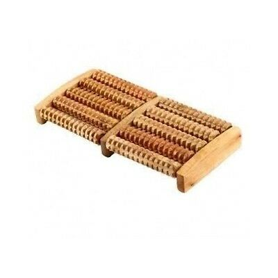 Reflexology Wooden Foot Roller Stress Relief Therapy Relax Tension Massager