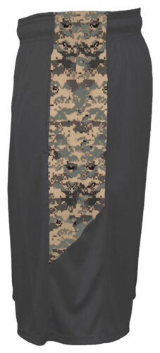 4189 Badger Men/'s Performance Covered Elastic Waistband Side Pockets Camo Short