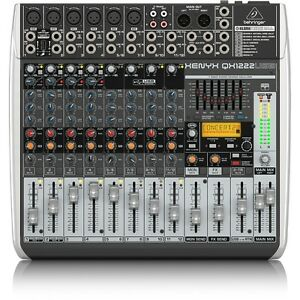 behringer xenyx qx1222usb 16 input usb audio mixer with effects ebay. Black Bedroom Furniture Sets. Home Design Ideas