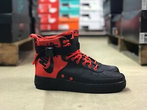 Nike SF Air Force 1 Mid Habanero Red Habanero Red
