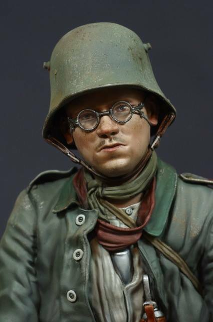 Jon Smith German Army Prisoner WW1 1 10th bust Unpainted kit