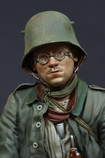 Jon Smith German Army Prisoner WW1 1 1 1 10th bust Unpainted kit 7ba