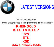 Paquete de herramientas de diagnóstico y programación BMW-ista D + P/Esys/ETK/KSD/BST