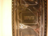 Toshiba 65,536 Word X 32-bit Synchronous Pipelined Burst Sram Lqfp-100