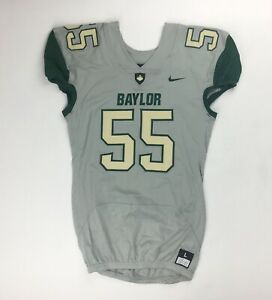 Details about Nike Baylor Bears Vapor Pro Football Game Jersey Men's Large #55 Grey 845919