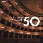 50 Best Opera Classics (CD, Mar-2010, 3 Discs, EMI Classics)