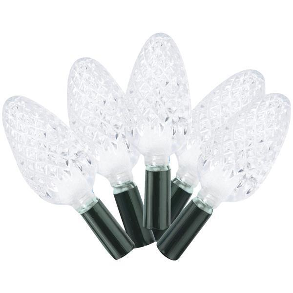 4 Pk Warm White 49 Foot 210-Bulb C6 LED Christmas Tree Light Set 2360-32