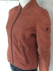 Kleidung & Accessoires Gipsy Sashi Damen Lederjacke LUNAV