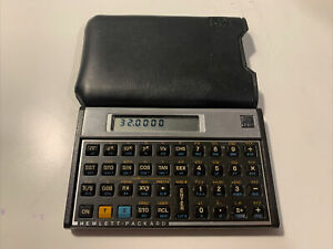Hewlett Packard HP-11C Scientific Engineering Calculator w/ Case - FREE SHIPPING